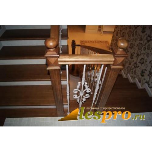 Элементы лестниц из дерева купить в Москве