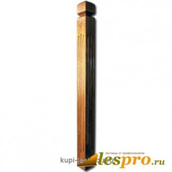 Столб декоративный Римский квадратный №29 80х80 Дуб