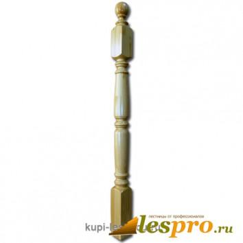 Столб декоративный Симметрия №2 80х80 Сосна