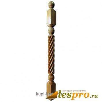 Столб декоративный Коса №14 80х80 Дуб