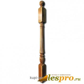 Столб декоративный Точеный №10 80х80 Дуб