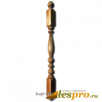 Столб декоративный Лилия №16 80х80 Дуб