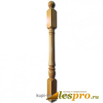 Столб декоративный Точеный №10 80х80 Бук