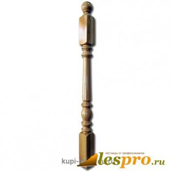 Столб декоративный Пять колец №26 80х80 Дуб