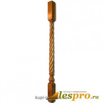 Балясина Свеча №12 50х50х900 Дуб
