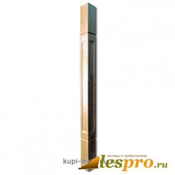 Столб декоративный Квадратный №6 80х80 Сосна