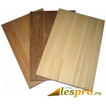 Щит мебельный цельноламельный 20*600*2300 мм, дуб