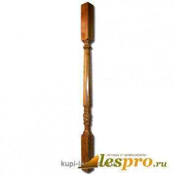 Балясина Бавария с резьбой №25 50х50х900 Дуб