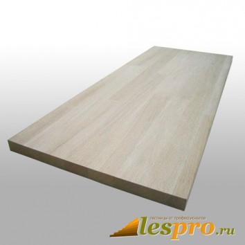 Щит мебельный цельноламельный 40*600*1100 мм, лиственница