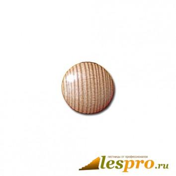 Заглушка деревянная Ø-25/16 лиственница