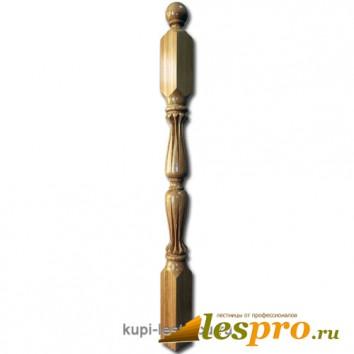 Столб декоративный Лотос №17 80х80 Дуб