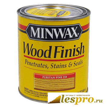 Морилка MINWAX wood finish (цвет-natural 209) 3.78 л