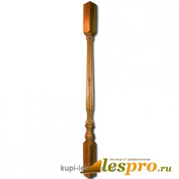 Балясина Свеча прямая №21 50х50х900 Дуб