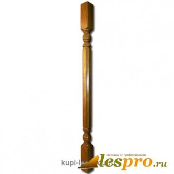 Балясина Граненная №8 50х50х900 Дуб