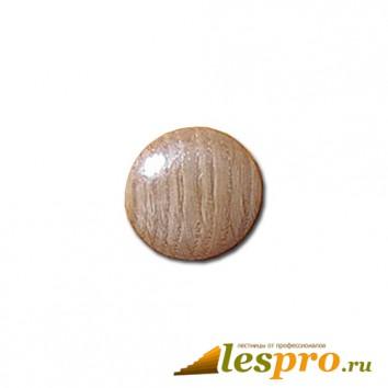 Заглушка деревянная Ø-35/30 дуб