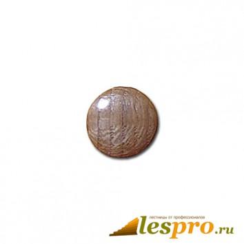 Заглушка деревянная Ø-25/16 дуб