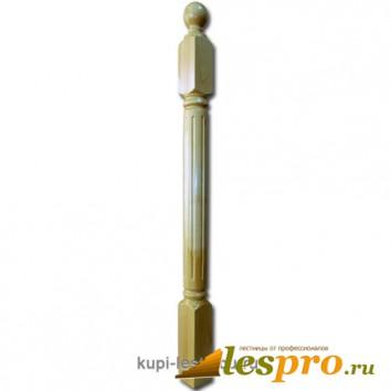 Столб декоративный Римская №8 80х80 Сосна