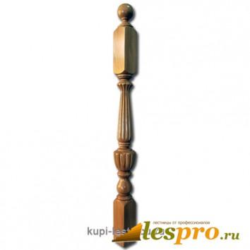 Столб декоративный Ампил стык №2 80х80 Дуб