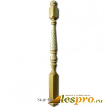 Столб декоративный Свеча №4 80х80 Сосна