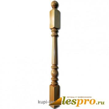 Столб декоративный Пять колец №26 80х80 Бук