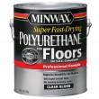 MINWAX fast-drying polyurethane clear gloss 1 gallon (глянцевый полиуретановый лак 3.78 л)