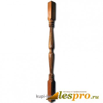 Балясина Лотос №17 50х50х900 Дуб