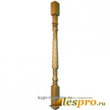 Балясина Тюльпан с фрезеровкой №7 50х50х900 Сосна