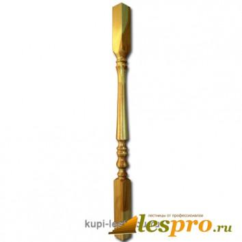 Балясина Граненная №1 50х50х900 Сосна