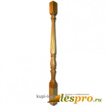 Балясина Свеча №4 50х50х900 Сосна