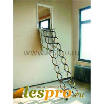 Раздвижная чердачная лестница Ножничная Verticale