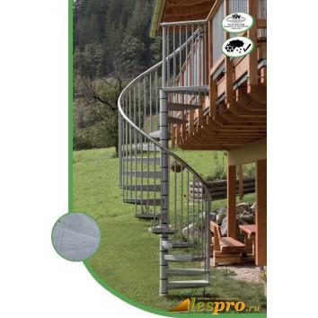 Винтовая лестница Rondo Zink Plus d-160