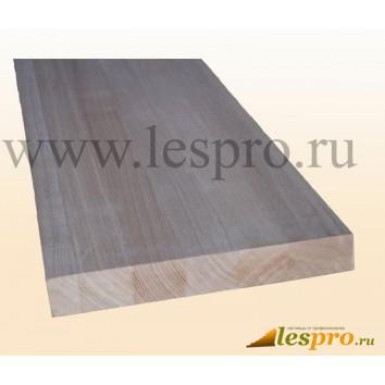 Щит мебельный цельноламельный 40*600*1000 мм, ясень