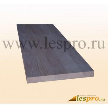 Щит мебельный цельноламельный 40*600*1300 мм, ясень