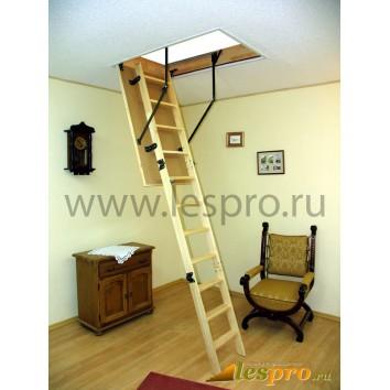 Складная чердачная лестница Standard из бука