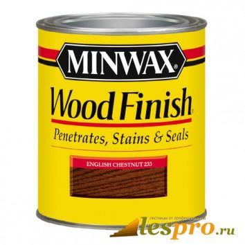 Морилка Minwax wood finish English Chestnut 233