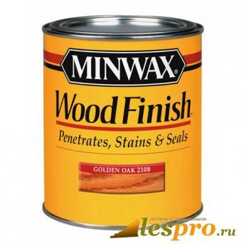 Морилка Minwax wood finish Golden Oak 210B