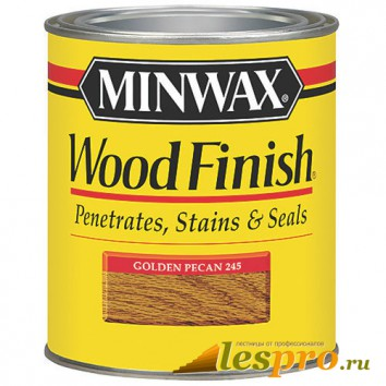 Морилка Minwax wood finish Golden Pecan 245