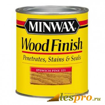 Морилка Minwax wood finish Ipswich Pine 221
