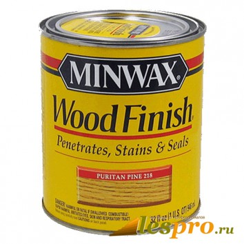 Морилка Minwax wood finish Puritan Pine 218
