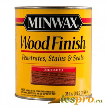 Морилка Minwax wood finish Red Oak 215