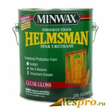 лак для дерева Minwax Helmsman (глянцевый)(3.78л)