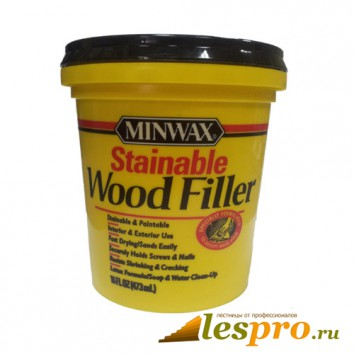 Шпатлёвка для дерева латексная Minwax Wood Filler(437 мл)