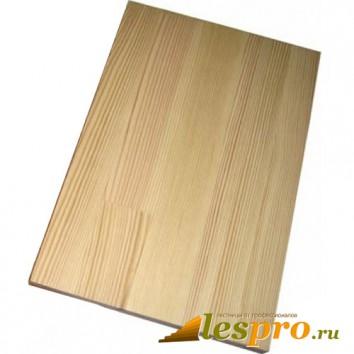 Щит мебельный сращенный 40*1000*2500 мм, сосна B